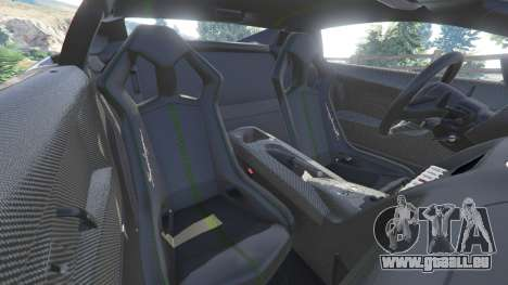 GTA 5 Lamborghini Gallardo LP 570-4 2011 Superleggera volant