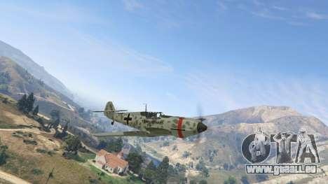 GTA 5 Messerschmitt BF-109 E3 v1.1 zweite Screenshot