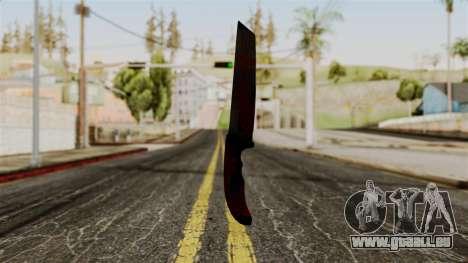 Nouveau couteau ensanglanté pour GTA San Andreas