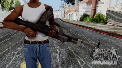 Bren LMG from Battlefield 1942 pour GTA San Andreas troisième écran