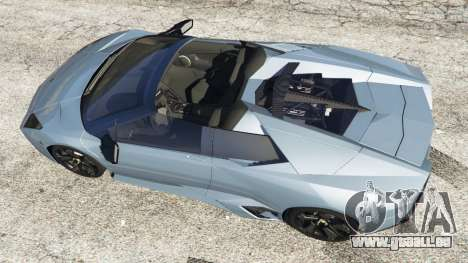 GTA 5 Lamborghini Reventon Roadster [Beta] Rückansicht