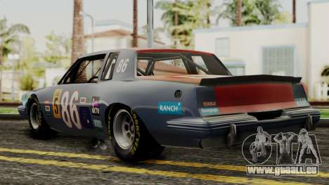 Pontiac GranPrix Hotring 1981 IVF pour GTA San Andreas laissé vue