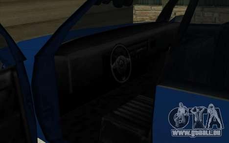 Toyota Crown Majesta dans le Style de GTA pour GTA San Andreas vue de droite
