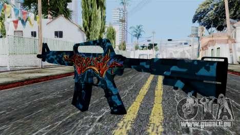 M4A1-S Master Piese pour GTA San Andreas deuxième écran