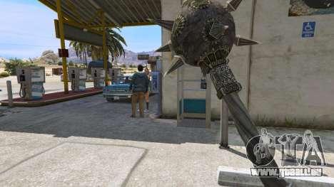 Stahl-Streitkolben des TES IV Oblivion für GTA 5