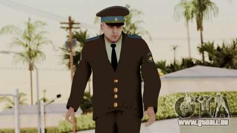 Senior warrant officer der air force für GTA San Andreas