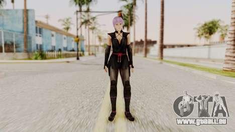 DOA 5 Ayane Ninja für GTA San Andreas zweiten Screenshot