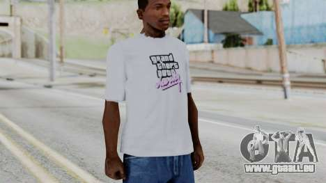 GTA Vice City T-shirt White für GTA San Andreas zweiten Screenshot