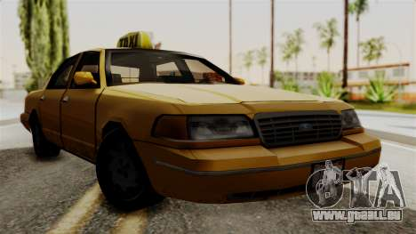 Ford Crown Victoria LP v2 Taxi pour GTA San Andreas