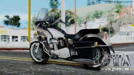 Bike Cop from Bully für GTA San Andreas linke Ansicht