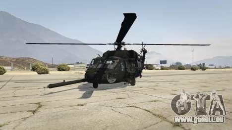 GTA 5 MH-60L Black Hawk