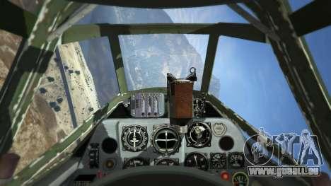 GTA 5 Messerschmitt BF-109 E3 v1.1 fünfter Screenshot