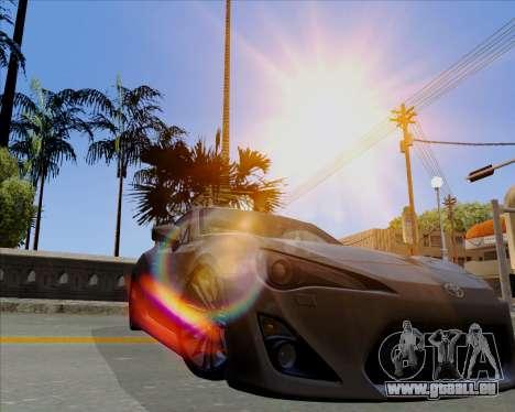 Vitesse ENB V1.1 Low PC pour GTA San Andreas