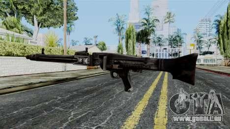 MG 42 from Battlefield 1942 pour GTA San Andreas deuxième écran