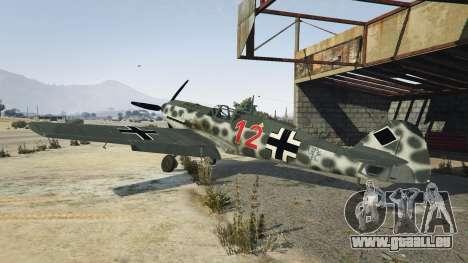 GTA 5 Messerschmitt BF-109 E3 v1.1
