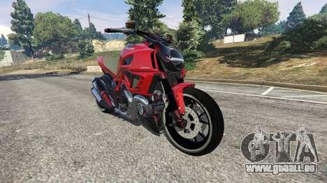 Ducati Diavel Carbon 2011 pour GTA 5