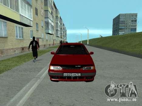 2114 pour GTA San Andreas vue de droite