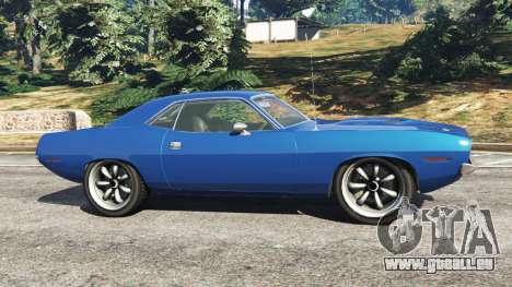 GTA 5 Plymouth Barracuda 1970 linke Seitenansicht