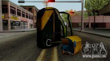 Brasileiro Parachute v2 für GTA San Andreas zweiten Screenshot