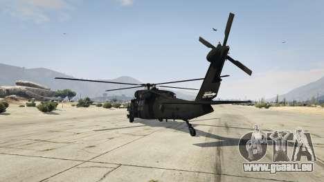 GTA 5 MH-60L Black Hawk troisième capture d'écran