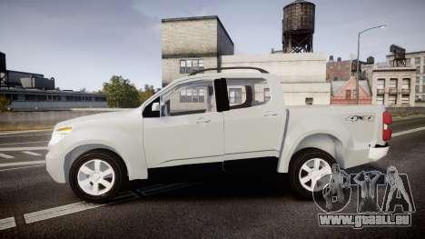 Chevrolet S10 LTZ 2014 v0.1 pour GTA 4 est une gauche