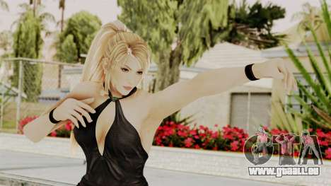 DOA 5 Sarah BlackDress für GTA San Andreas