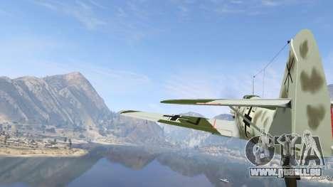 GTA 5 Messerschmitt BF-109 E3 v1.1 sechster Screenshot