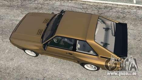 GTA 5 Audi Sport quattro v1.3 vue arrière