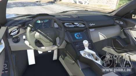 GTA 5 Lykan HyperSport 2014 droite vue latérale