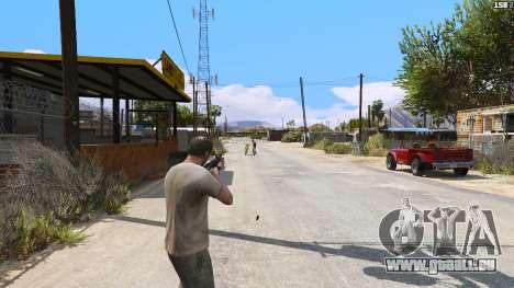 GTA 5 SAIGA von Battlefield 4