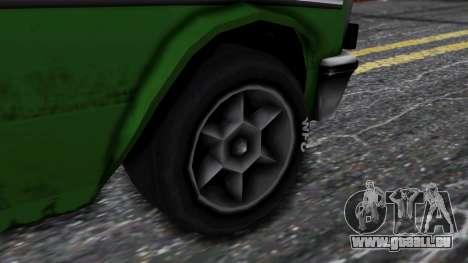 Drag-Perennial pour GTA San Andreas sur la vue arrière gauche