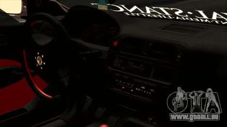 Honda Civic Hatchback B. O. Bau für GTA San Andreas rechten Ansicht