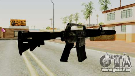 M4A1-S Basilisk pour GTA San Andreas deuxième écran