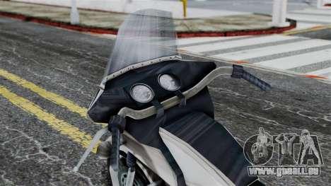 Bike Cop from Bully für GTA San Andreas rechten Ansicht