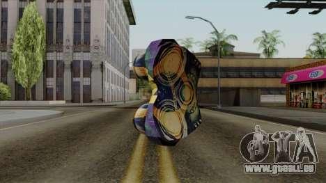 Brasileiro NV Goggles v2 pour GTA San Andreas deuxième écran