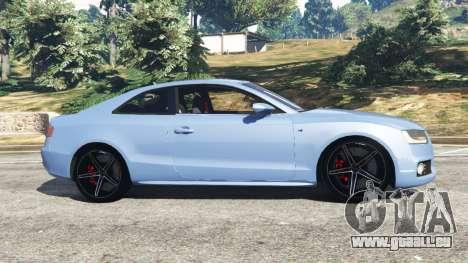 GTA 5 Audi S5 Coupe vue latérale gauche