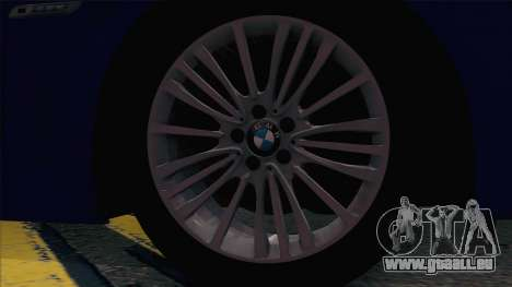 BMW 520 Untersuchungsausschuss für GTA San Andreas Rückansicht
