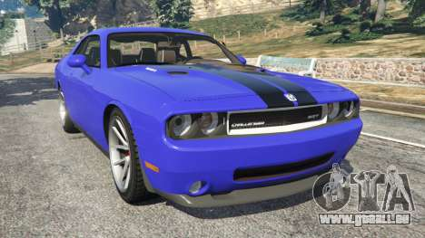 Dodge Challenger SRT8 2009 v0.3 [Beta] pour GTA 5