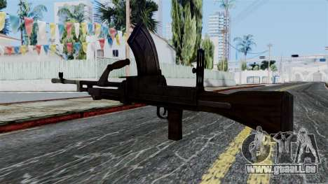 Bren LMG from Battlefield 1942 für GTA San Andreas zweiten Screenshot