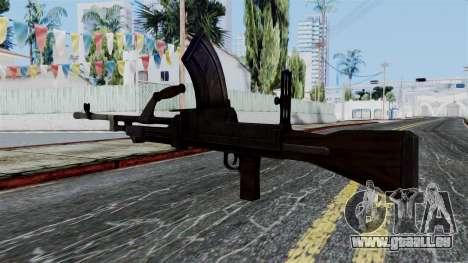 Bren LMG from Battlefield 1942 pour GTA San Andreas deuxième écran