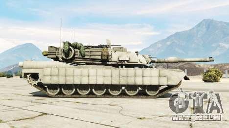 GTA 5 M1A2 Abrams v1.1 linke Seitenansicht