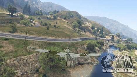 GTA 5 Messerschmitt BF-109 E3 v1.1 achten Screenshot