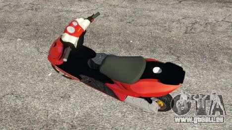 Yamaha Aerox für GTA 5