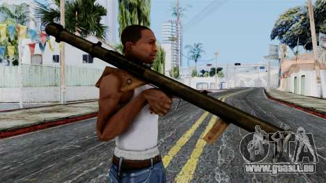 Bazooka from Battlefield 1942 für GTA San Andreas dritten Screenshot