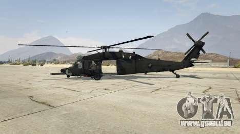 GTA 5 MH-60L Black Hawk deuxième capture d'écran