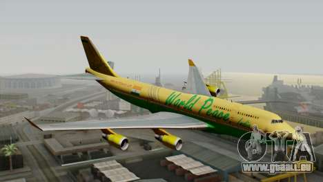 Boeing 747-400 World Peace pour GTA San Andreas