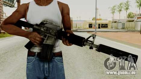 M4A1-S Basilisk pour GTA San Andreas troisième écran