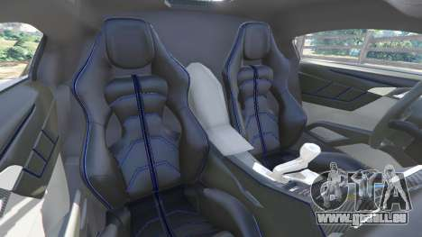 GTA 5 Lykan HyperSport 2014 avant droite vue de côté
