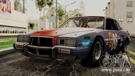 Pontiac GranPrix Hotring 1981 IVF pour GTA San Andreas