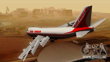 Boeing 747-237B Air India Flight 182 für GTA San Andreas linke Ansicht